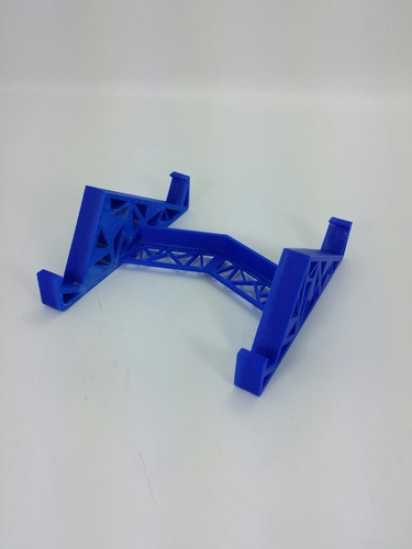 Triangles Tablet Stand 3D Print 24124
