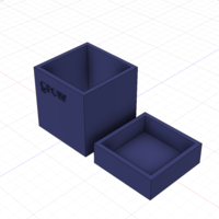 Small 'Grow' Planter (small) 3D Printing 241256