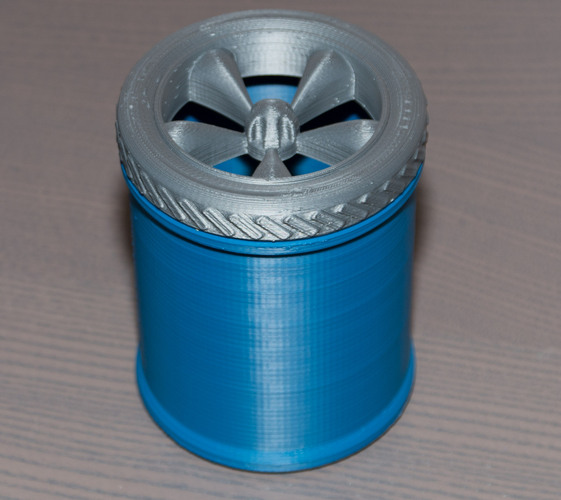 Mag Wheel Pencil Holder 3D Print 24128