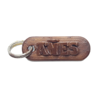 Small AÑES Personalized keychain embossed letters 3D Printing 241358