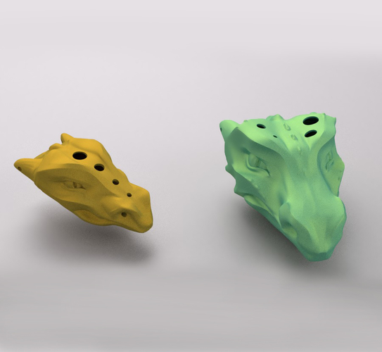 DRAGON OCARINA AND WHISTLE 3D Print 241383