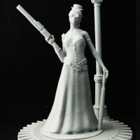 Small Steampunk Lady : jisabelle 3D Printing 24139