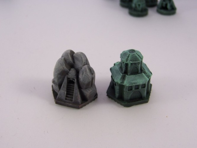 Pocket-Tactics Elves of the Shining Host 3D Print 2415