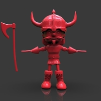 Small Floky The Viking 3D Printing 241616