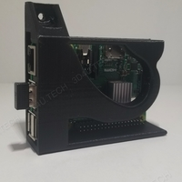 Small Raspberry Pi 3/3+ Case (No supports - one piece)  3D Printing 242068