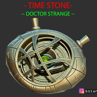 Small Eye Of Agamotto - TIME STONE - Doctor Strange - MARVEL 3D Printing 242187