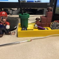 Small Mario Pen Holder 3D Printing 242256