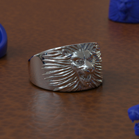 Small Lion Ring 3D Printing 242260