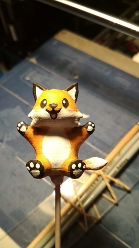 Cute Little Fox 3D Print 242273