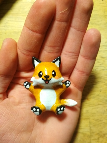 Cute Little Fox 3D Print 242274