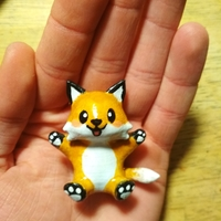 Small Cute Little Fox 3D Printing 242274