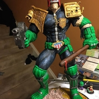 Small Judge Dredd 3d print model 3D Printing 242354