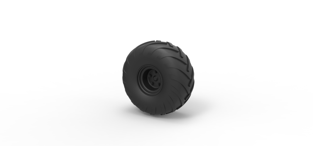Diecast Wheel from Argo 3D Print 242355