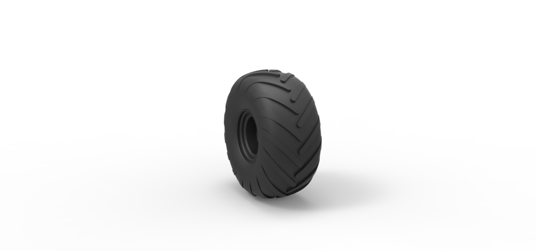 Diecast Wheel from Argo 3D Print 242356