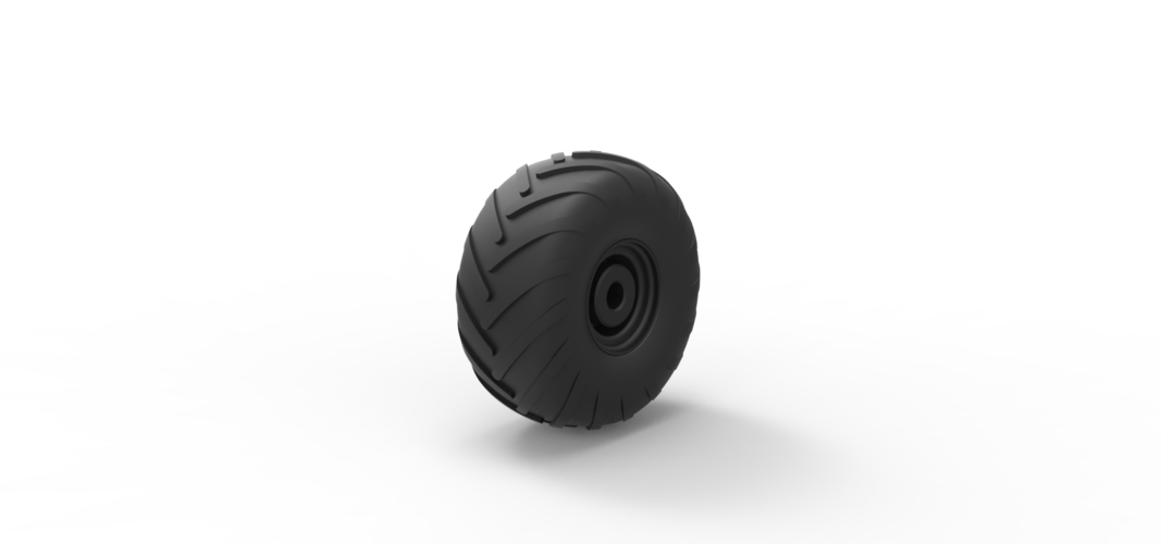 Diecast Wheel from Argo 3D Print 242358