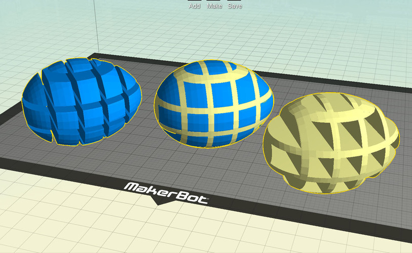 Easter Egg Maker for Customizer 3D Print 24237