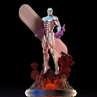 Small Silver Surfer - 3D print model 3D Printing 242440