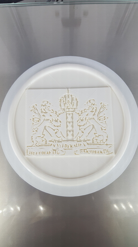 Coat of arms of Amsterdam coaster 3D Print 242510