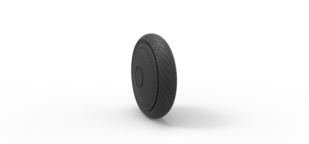 Diecast Car wheel 3 3D Print 242521