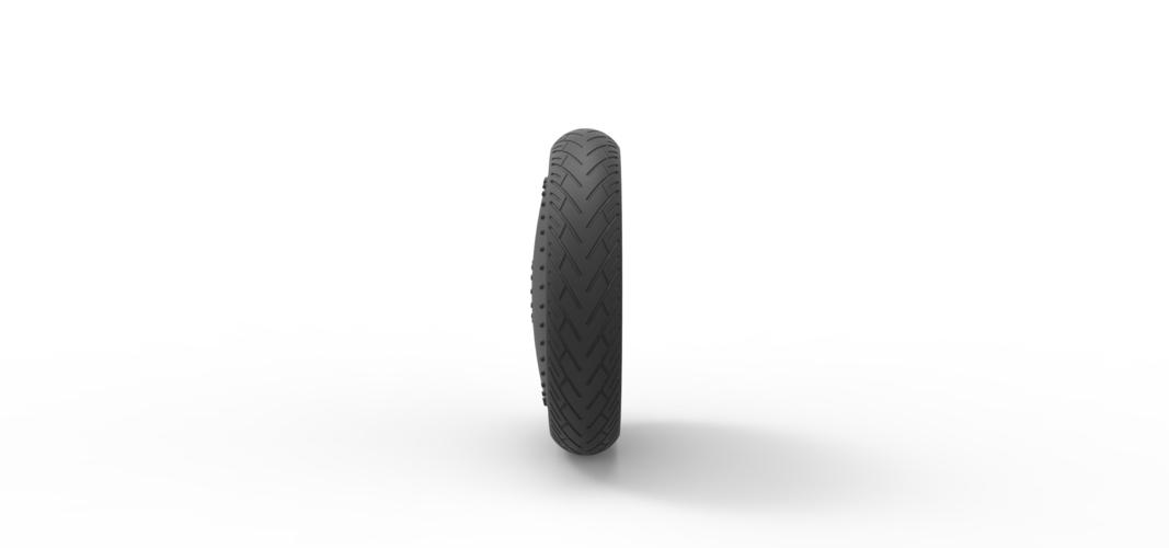 Diecast Car wheel 3 3D Print 242522