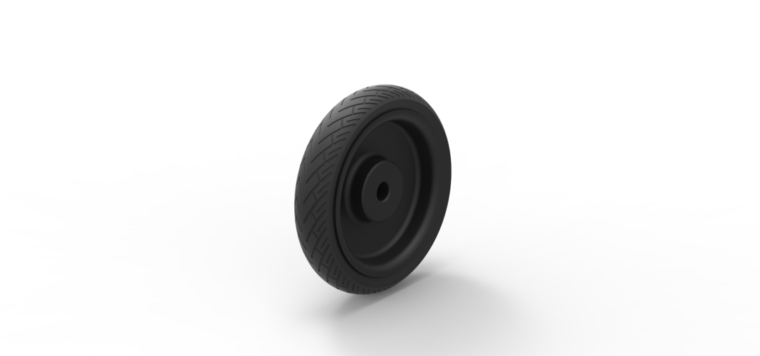 Diecast Car wheel 3 3D Print 242523
