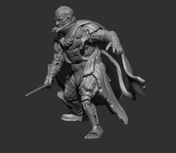 King of Ashes  3D Print 242638