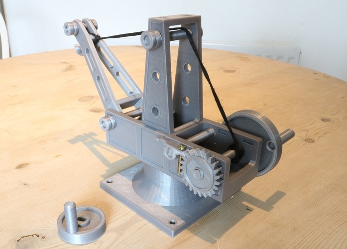 Mechanical Advantage Demonstration Crane 3D Print 242838