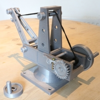Small Mechanical Advantage Demonstration Crane 3D Printing 242838