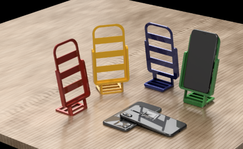 Universal Phone Stand 3D Print 242878
