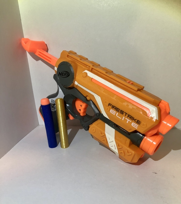 Medium Nerf Dart - (Elite Dart) - fully functional  3D Printing 242879