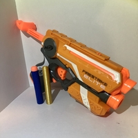Small Nerf Dart - (Elite Dart) - fully functional  3D Printing 242879