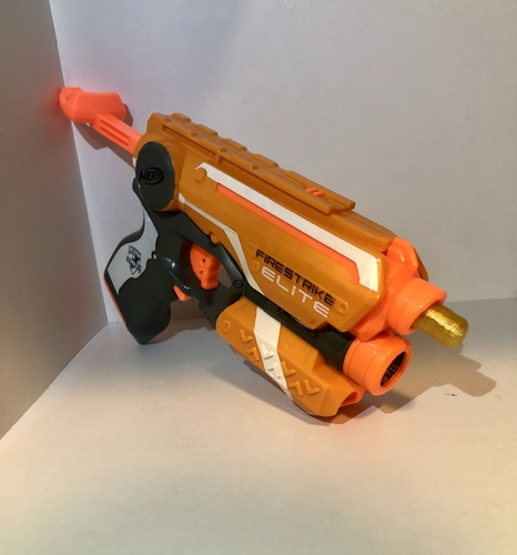 Nerf Dart - (Elite Dart) - fully functional  3D Print 242881
