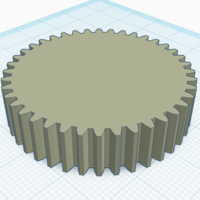 Small 40mm Gear [for Lego] 3D Printing 242884