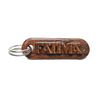 Small FATIMA Personalized keychain embossed letters 3D Printing 242885