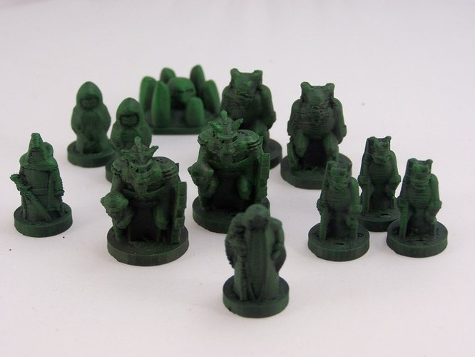 Pocket-Tactics Legion of the High King 3D Print 2429