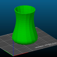 Small Simple Vase 3D Printing 242956