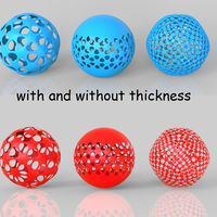 Small spheres 3D Printing 243059