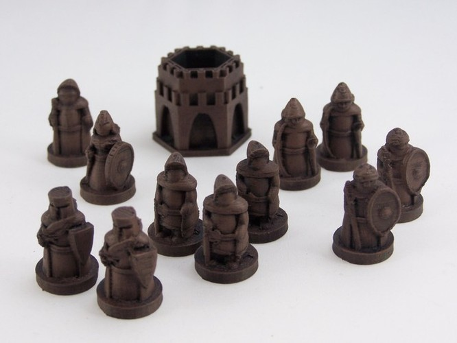 Pocket-Tactics Legion of the High King 3D Print 2431