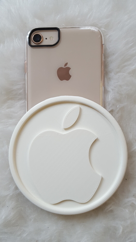 Coaster with Apple logo 3D Print 243102