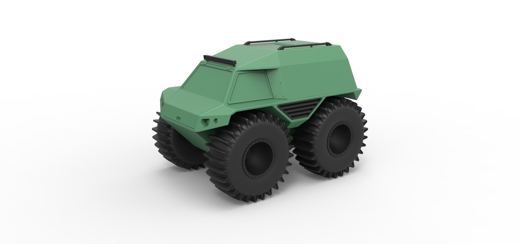 Diecast model THOR Ultimate ATV Scale 1:24 3D Print 243208