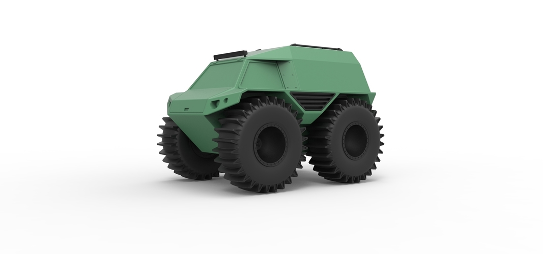 Diecast model THOR Ultimate ATV Scale 1:24 3D Print 243209