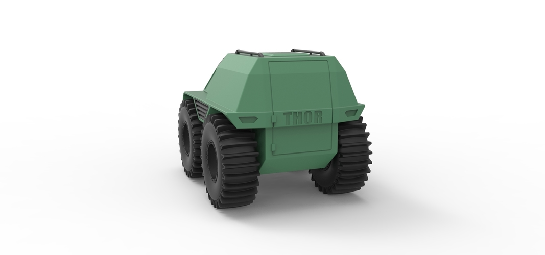 Diecast model THOR Ultimate ATV Scale 1:24 3D Print 243219