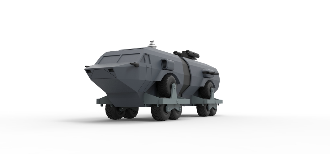 Diecast model Landmaster from Damnation Alley Scale 1:38 3D Print 243332
