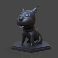Small Maron The Cute Dog 3D Print 3D Printing 243378