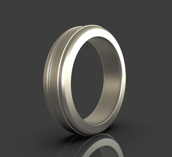 Jewelry Simple Ring 3D Print 243395