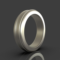 Small Jewelry Simple Ring 3D Printing 243395