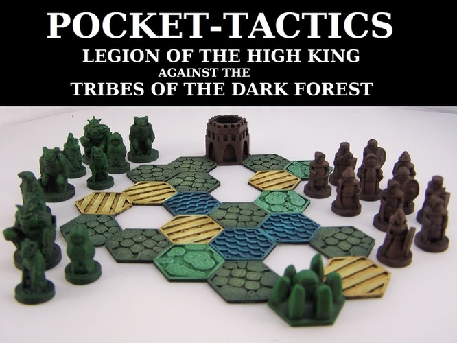 Pocket-Tactics Legion of the High King 3D Print 2434