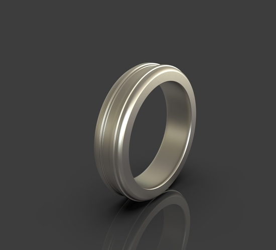 Jewelry Simple Ring 3D Print 243402
