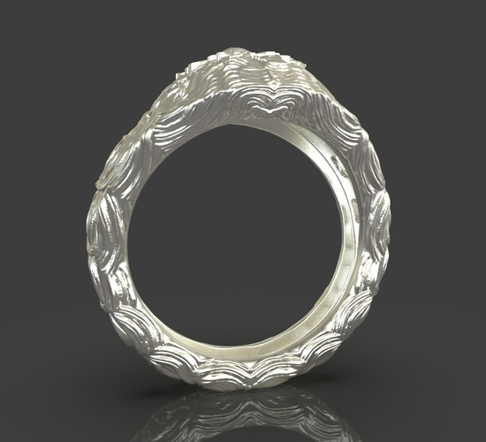 Jewelry Flower Ring 3D Print 243537