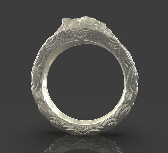 Jewelry Flower Ring 3D Print 243542